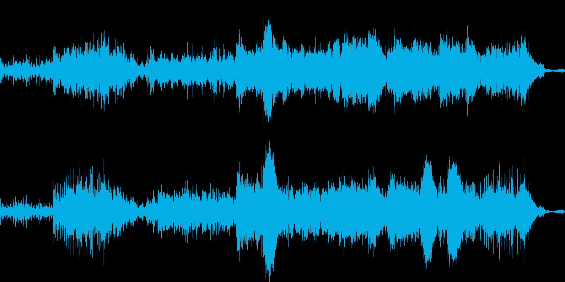 ファンタジックでメロディアスなポップスの再生済みの波形