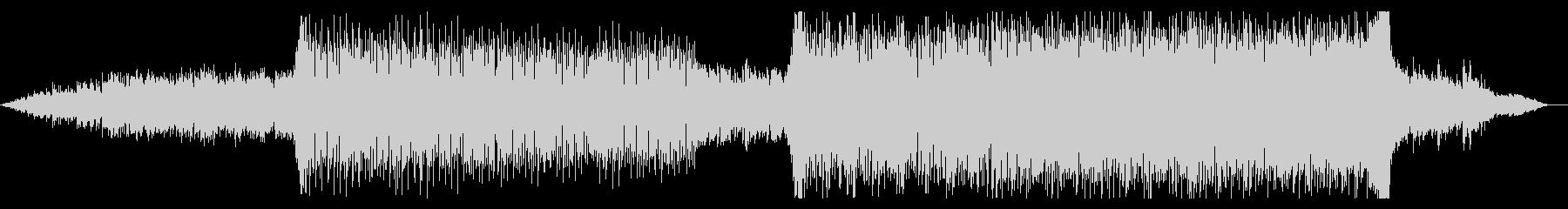 キラキラした幻想的なピアノテクノの未再生の波形