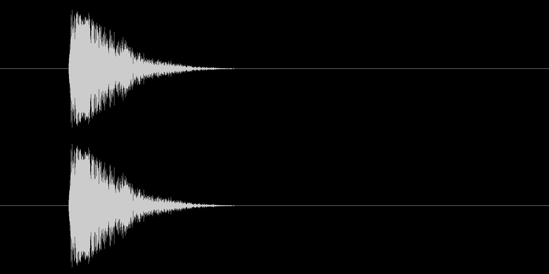 ジャン!懐かしのオケヒその2の未再生の波形