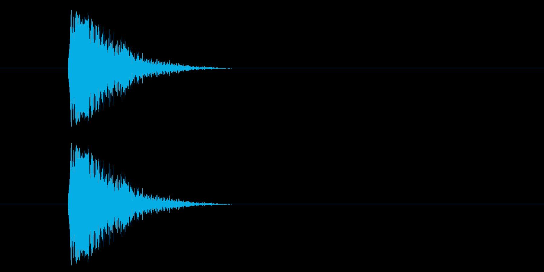 ジャン!懐かしのオケヒその2の再生済みの波形