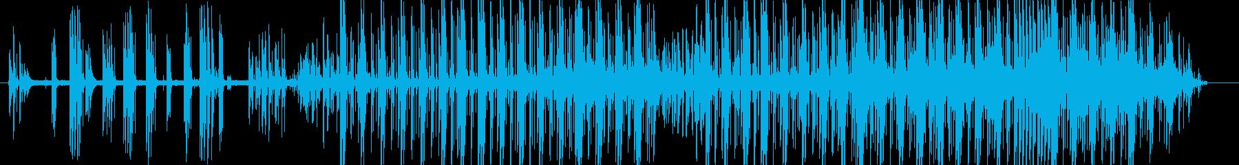 kaf の再生済みの波形