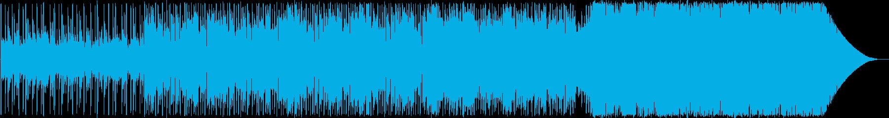 キャッチーなメロディーのポップスの再生済みの波形