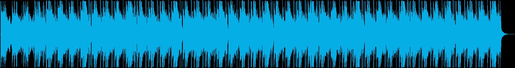 チルアウト 切ないR&Bバラードの再生済みの波形
