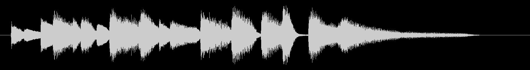 ジングル ジャズ11 ピアノソロ クールの未再生の波形