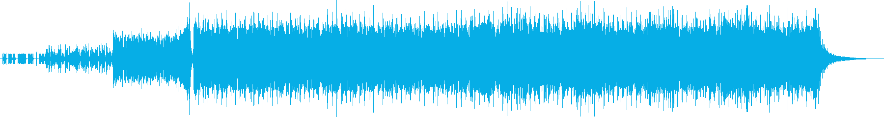 A sense of speeding D & B and rock guitar's reproduced waveform