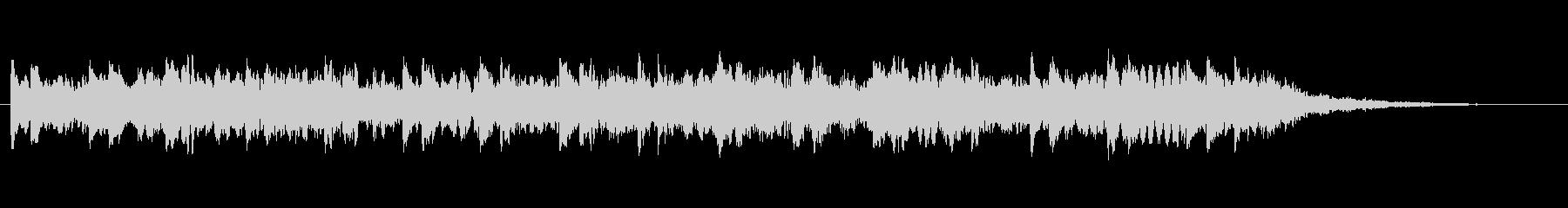 緊迫感をあおるパルス音(120BPM)の未再生の波形