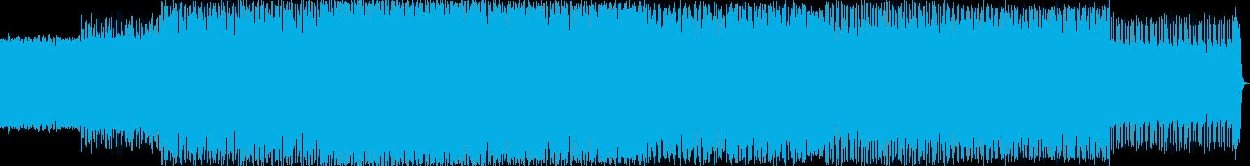 エレクトロハウス。力。エネルギー。...の再生済みの波形