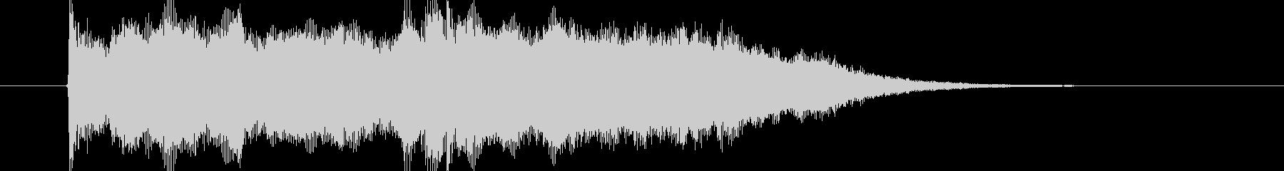 感動的なストリングポップスのジングル曲の未再生の波形