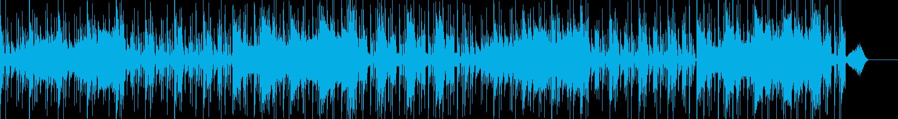 忘れられないシンセパッドとファンキ...の再生済みの波形