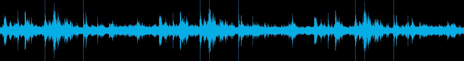 環境音 工事現場 重機 ショベルカーの再生済みの波形