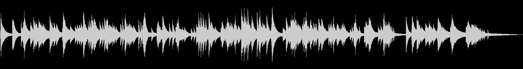 ジャズラウンジ/ゆったりとしたピアノソロの未再生の波形