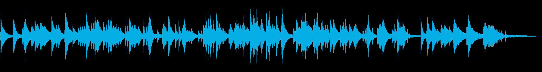 ジャズラウンジ/ゆったりとしたピアノソロの再生済みの波形