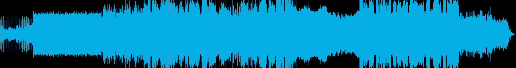 壮大なロックの再生済みの波形