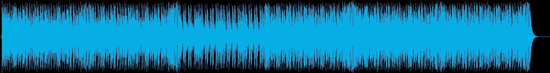 和風◆荒々しい太鼓の和な打楽器インストの再生済みの波形