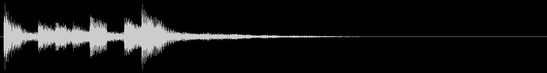 KANT近未来アラーム011043の未再生の波形