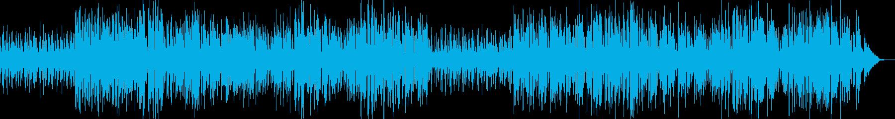 一途な愛を歌ったピアノラブソングの再生済みの波形