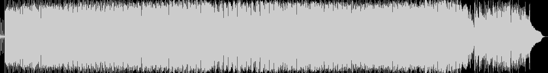 クールなヘビーメタル系ロックの未再生の波形