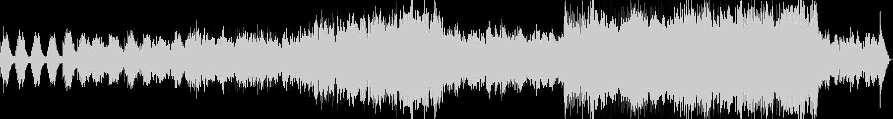 透明感のある電子音ポップの未再生の波形