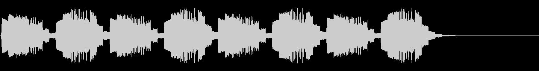 警告音01の未再生の波形