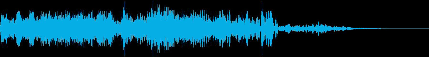 アプリケーションの解決の再生済みの波形