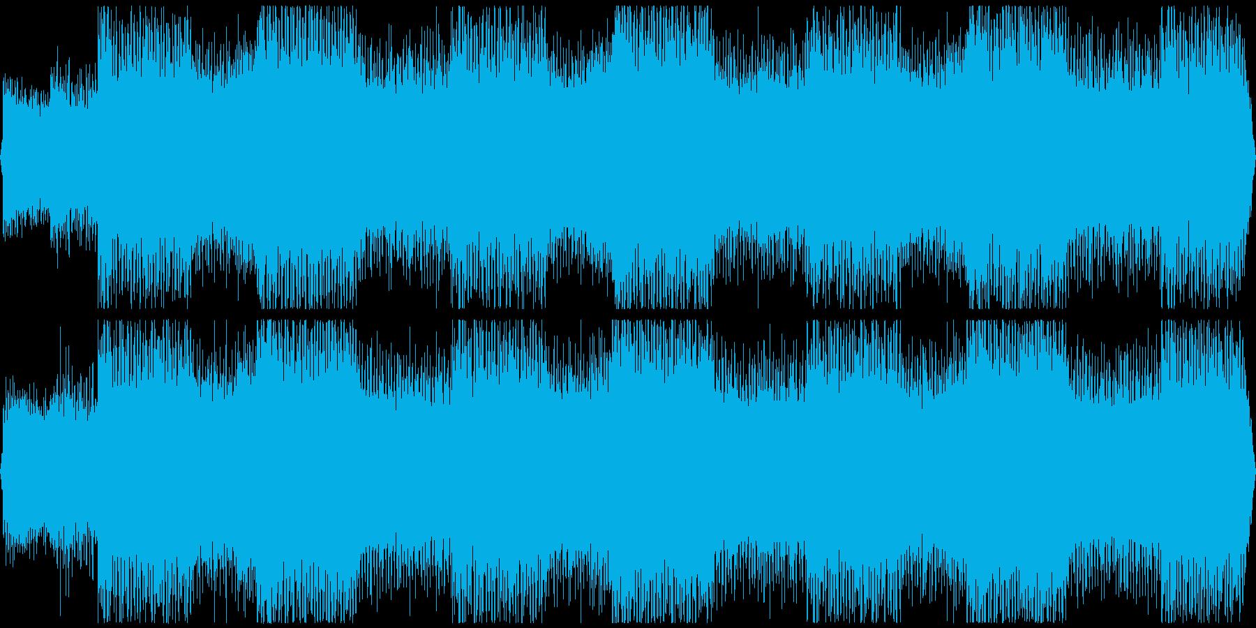 ボス戦闘・サイバーファンタジー系STGの再生済みの波形