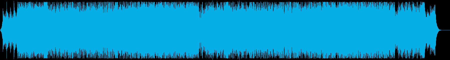 X`mas 結婚式 生アコギベルキラキラの再生済みの波形