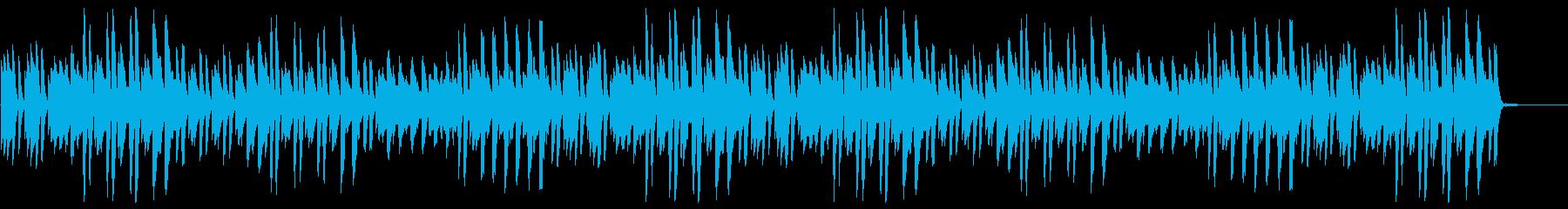 猫踏んじゃった【ピアノ】(アップテンポ)の再生済みの波形