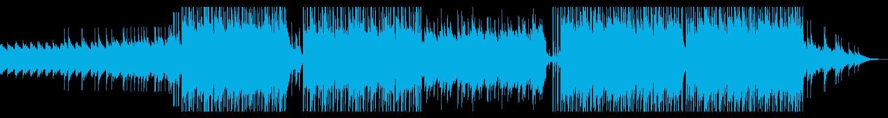 和風/三味線/京都/テンポのいいポップの再生済みの波形
