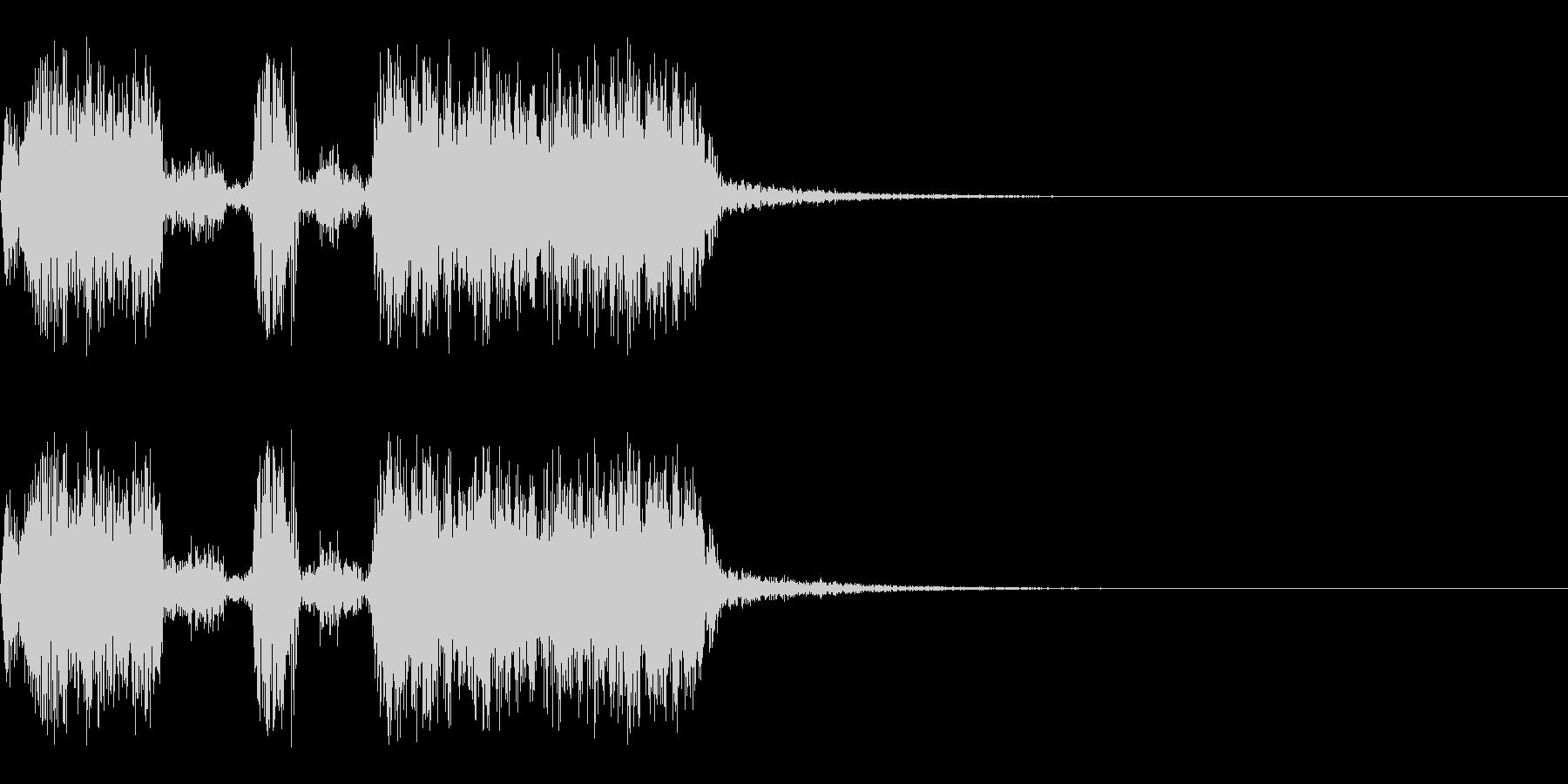 スパーク音-47の未再生の波形