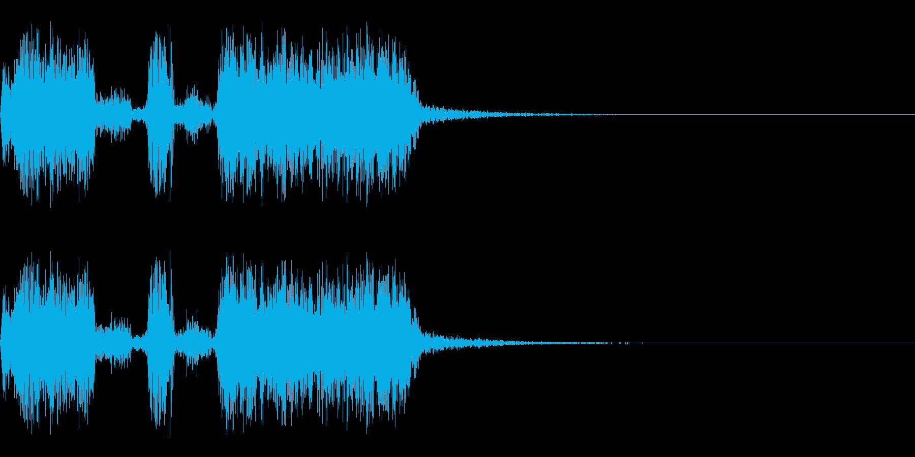 スパーク音-47の再生済みの波形