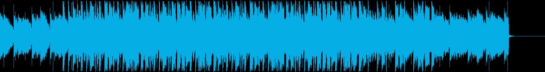 哀愁漂うエモいLo-fiビートの再生済みの波形