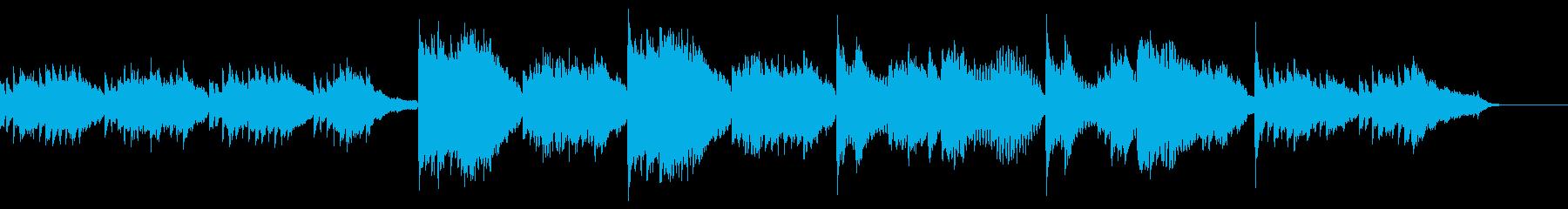 ヒーリング、心が落ち着くBGM フルートの再生済みの波形