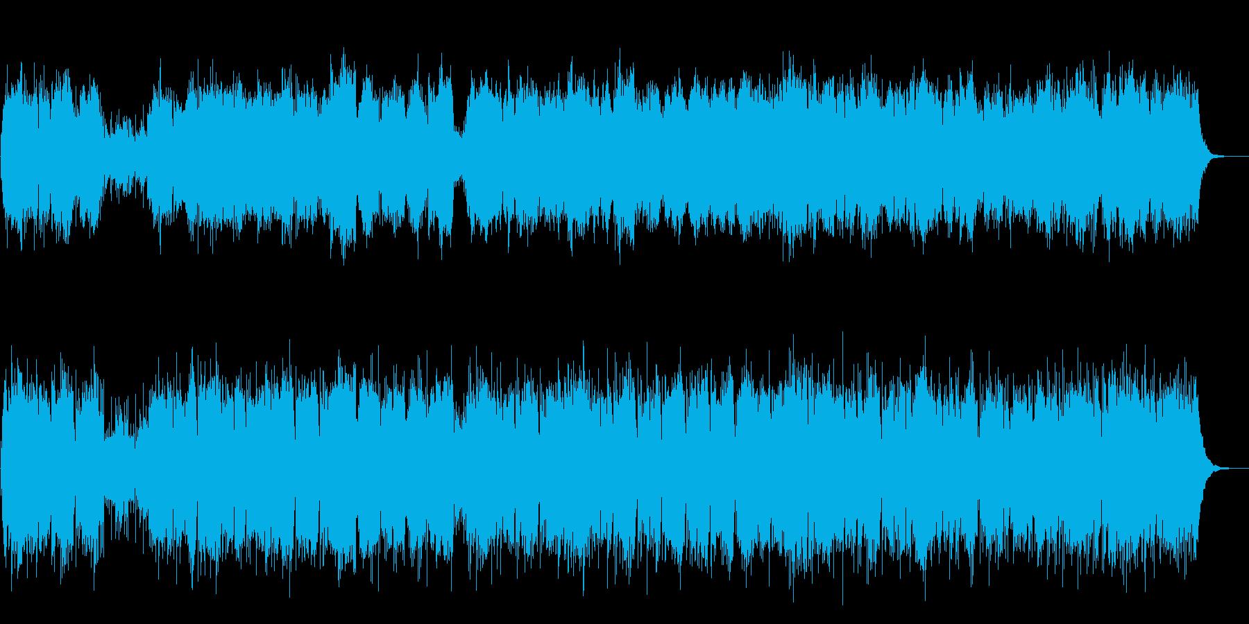生バイオリンとアコギのシンプルなポップの再生済みの波形