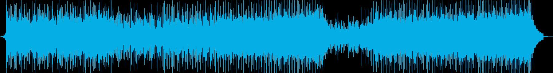 ティーン モダン テクノ ハウス ...の再生済みの波形