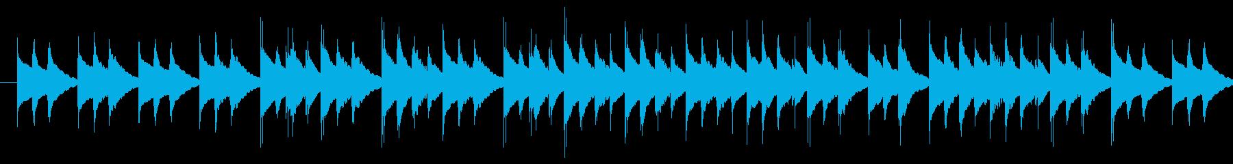 ほのぼの軽快ファンタジー風オルゴールの再生済みの波形