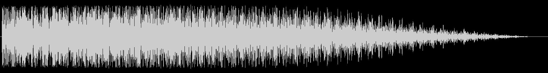 ワープエンジン(安定状態にある効果音)の未再生の波形