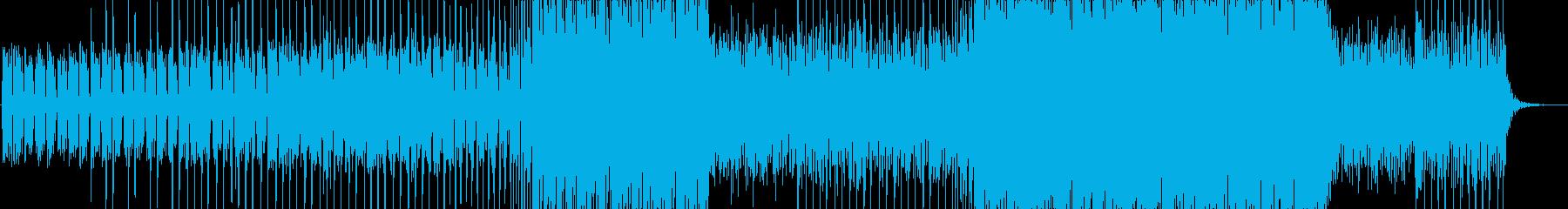 ■フィルター-ハウス-空間-動画-PVの再生済みの波形