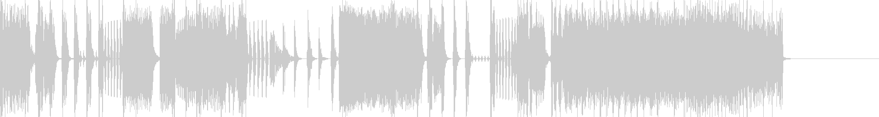 Cool beat electro jingle 2's unreproduced waveform
