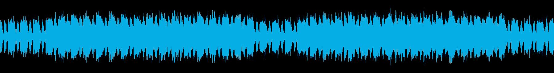ブラス系の戦闘曲の再生済みの波形