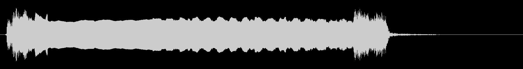 エレクトリックギター:パワーベンド...の未再生の波形