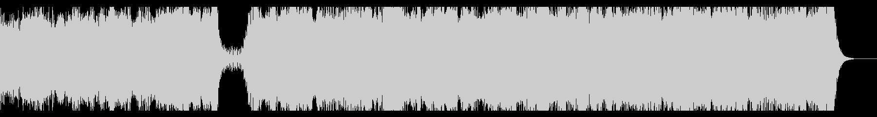 壮大・和風なオーケストラ bの未再生の波形
