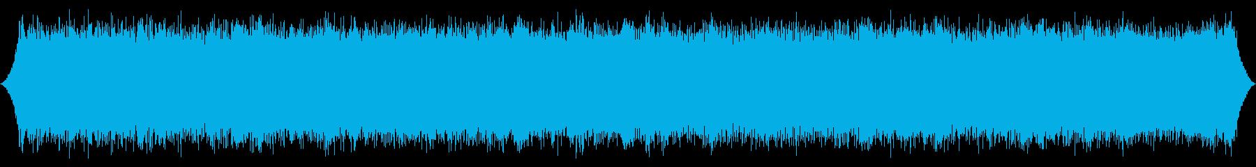 森の風:猛烈な絶頂のust風の再生済みの波形