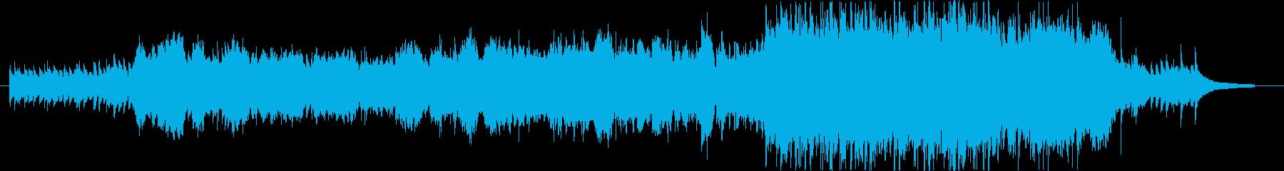 アコースティックな雰囲気なVnメイン曲の再生済みの波形