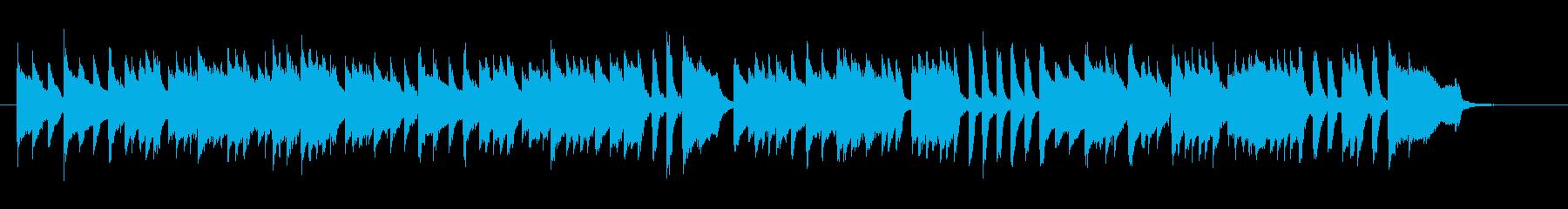 ト短調のメヌエットをチェンバロでの再生済みの波形