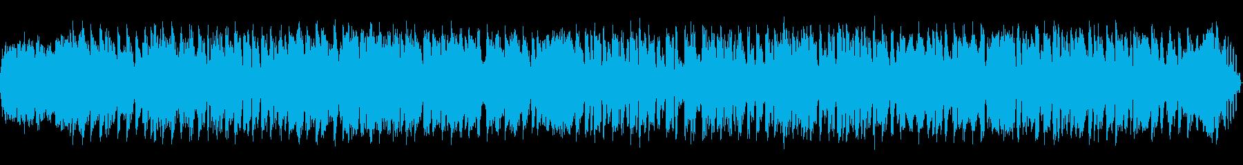 スクラッチグルーブ2の再生済みの波形