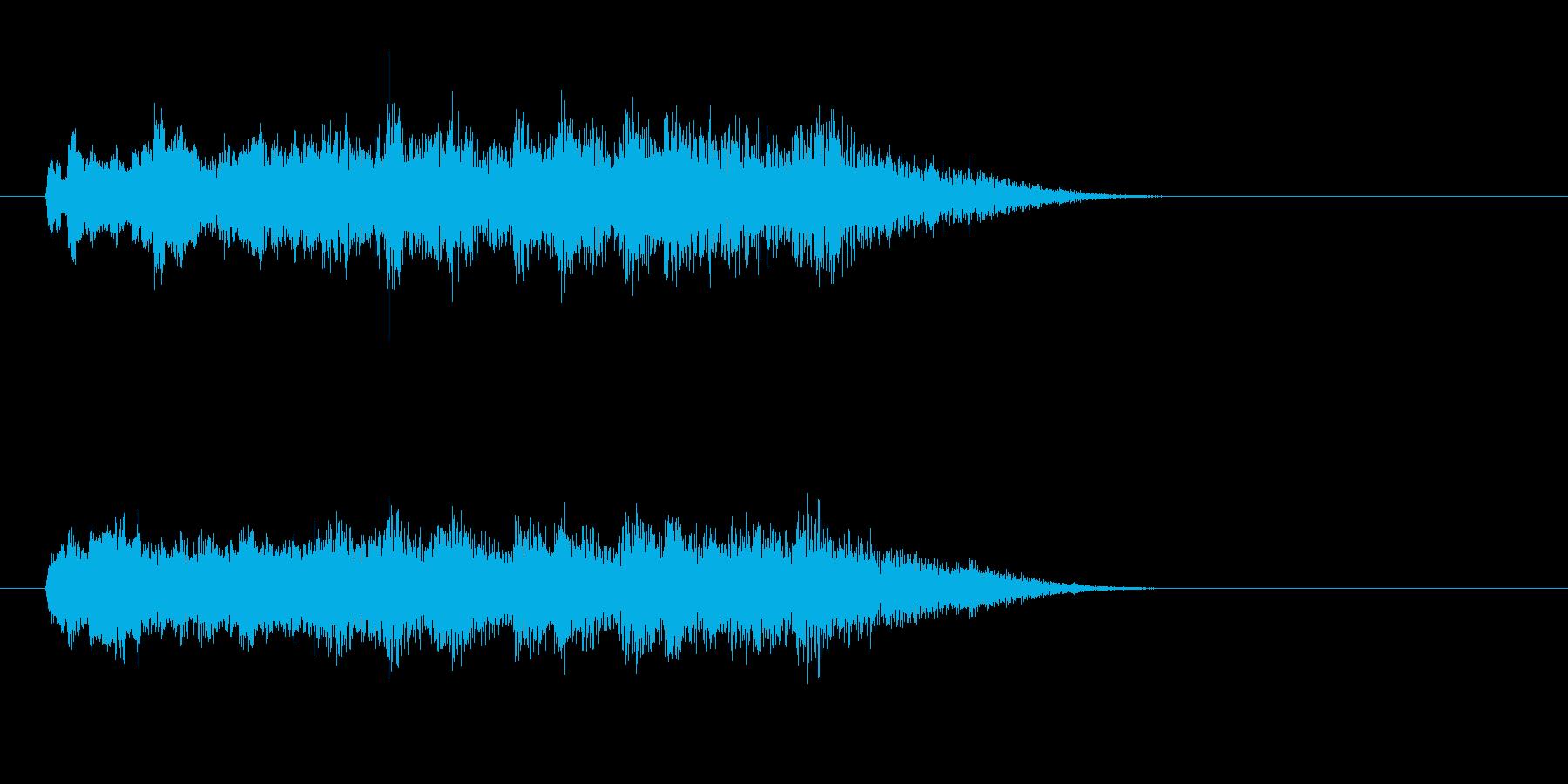 テーマ31:フルミックスの再生済みの波形