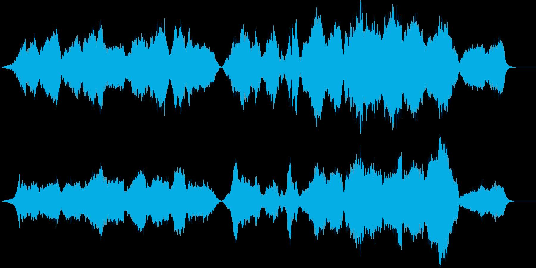 悲壮感と希望の弦楽四重奏・バイオリンソロの再生済みの波形