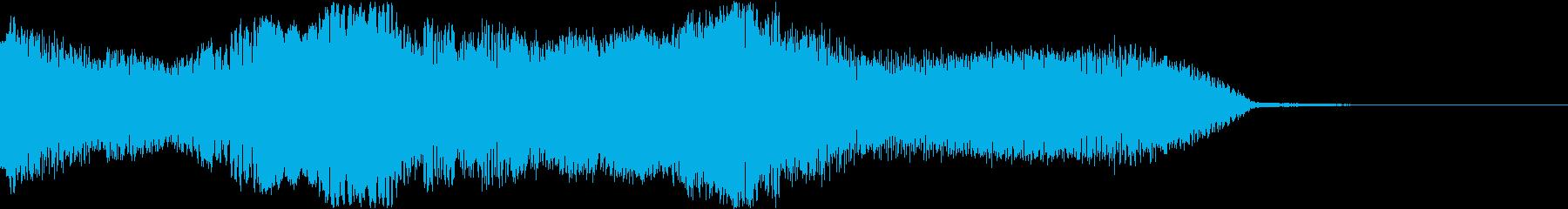 ブルガリアンボイスによるジングル  の再生済みの波形