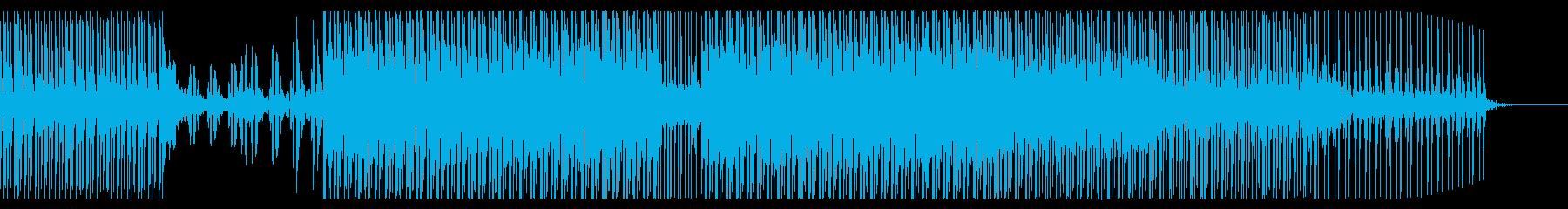 EDM/ハウス/夏っぽい爽やかさのポップの再生済みの波形