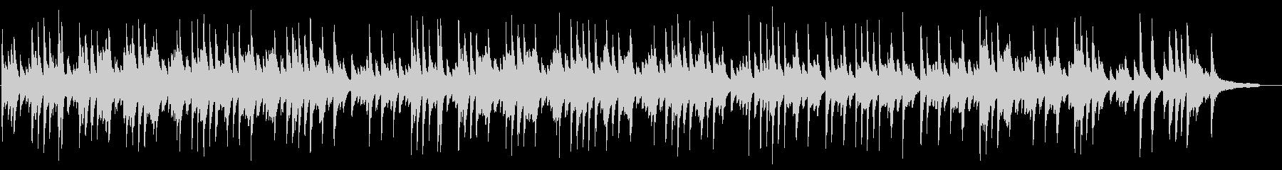 さわやかなイメージのピアノソロBGMの未再生の波形